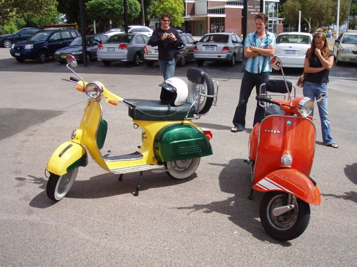 The Italian Vespa - Fun Facts about the Romantic Vespa Motorscooter