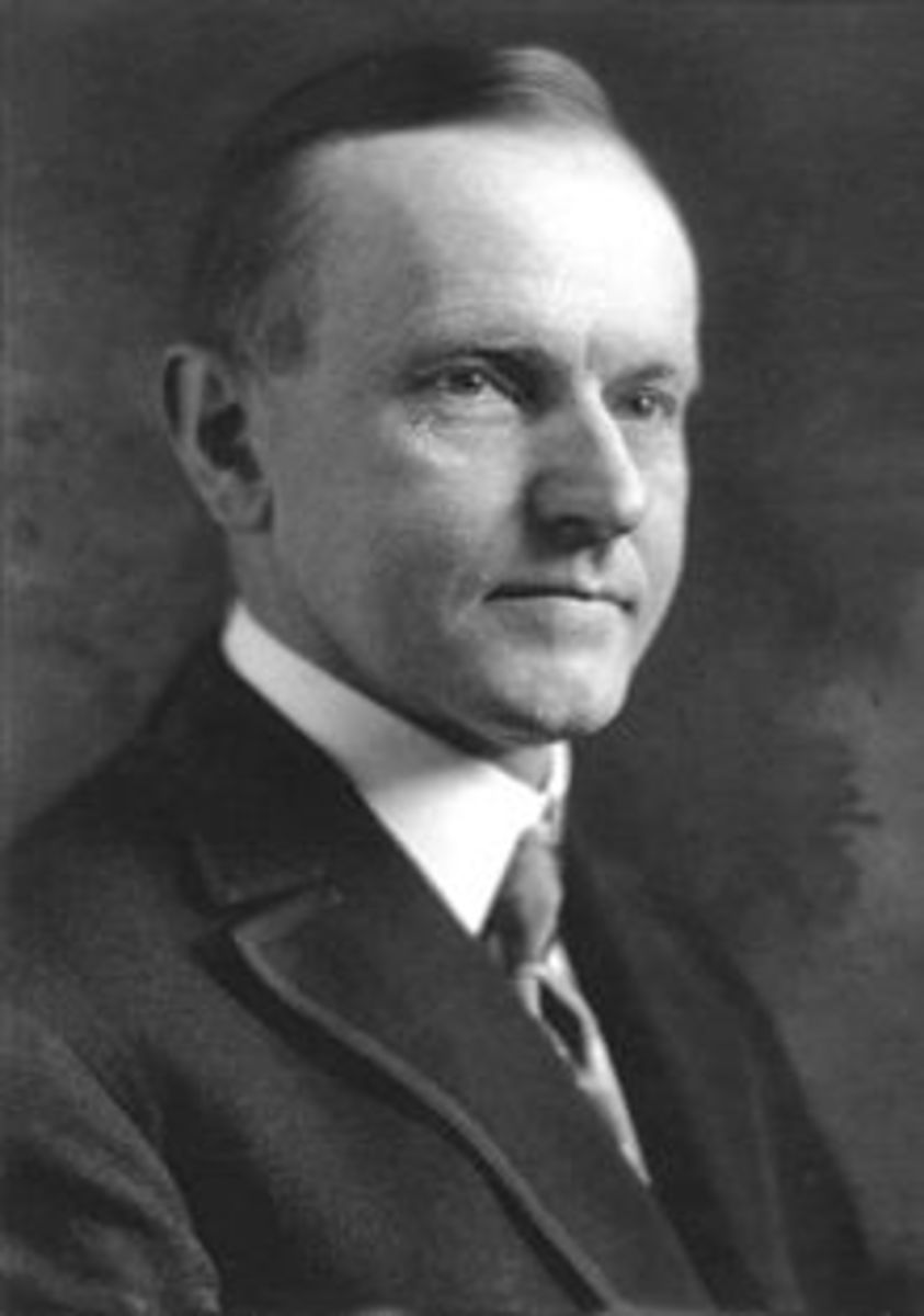 PRESIDENT CALVEN COOLIDGE August 2, 1923 – March 4, 1929 CONSERVATIVE