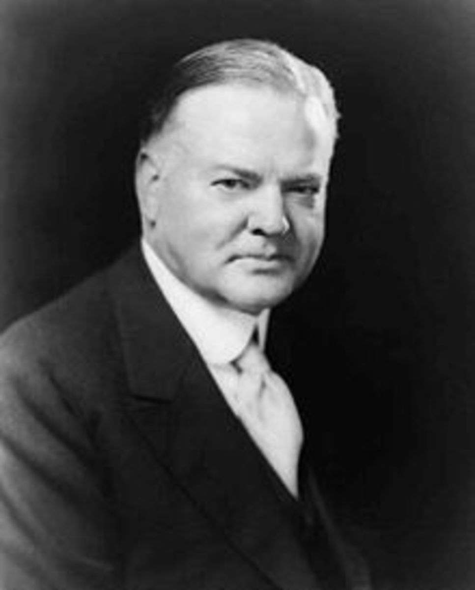 PRESIDENT HERBERT HOOVER March 4, 1929 – March 4, 1933 CONVERVATIVE