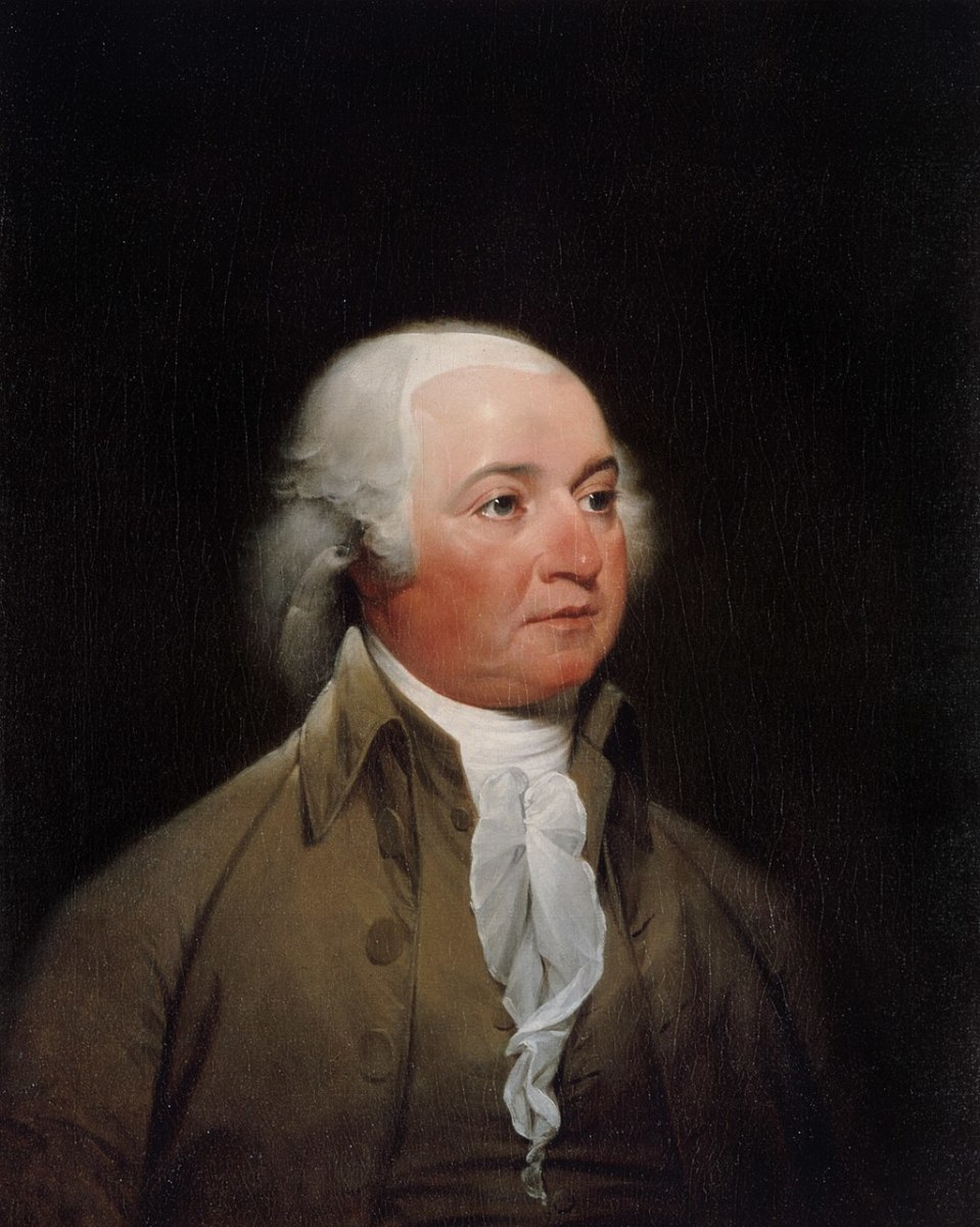PRESIDENT JOHN ADAMS, POTUS #2  1797 - 1801