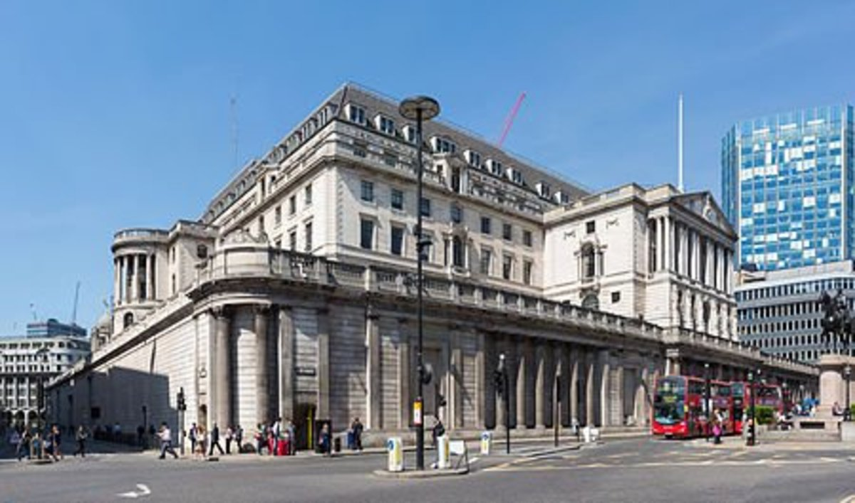 BANK OF ENGLAND WHERE THIS RECESSION STARTED