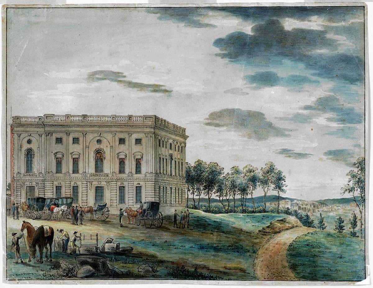 U.S. CAPITOL - 1800