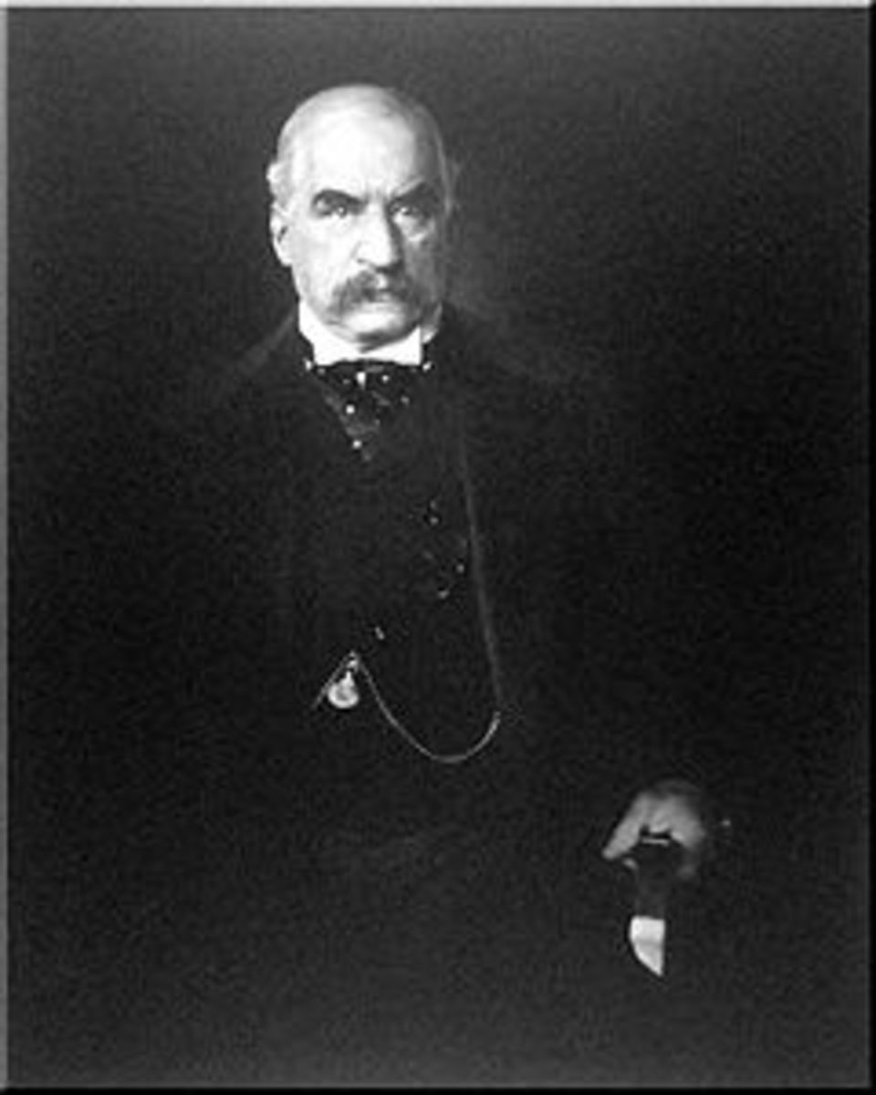 JOHN PIERPONT MORGAN - FINANCIER