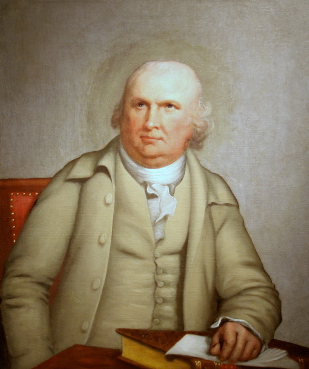 SENATOR ROBERT MORRIS, b. 1734, d. 1806