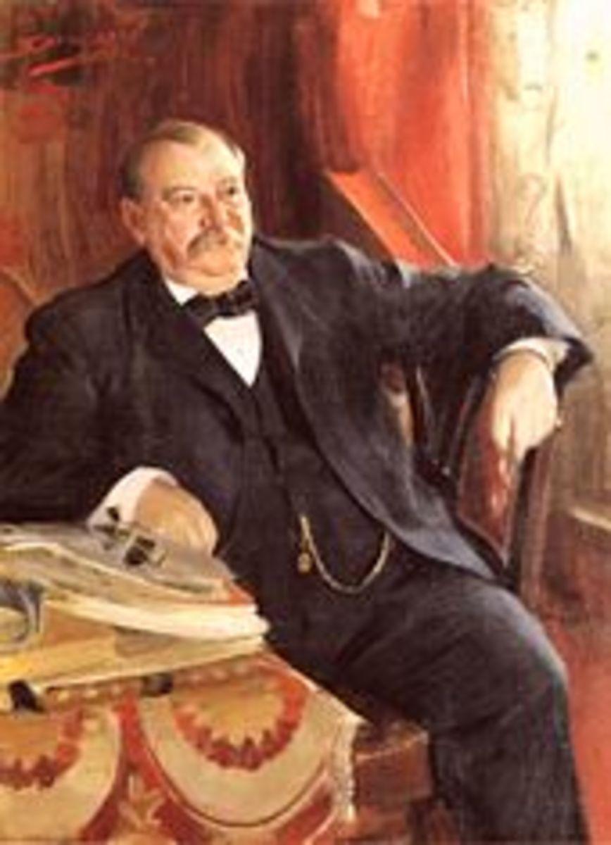 PRESIDENT GROVER CLEVELAND, 1899