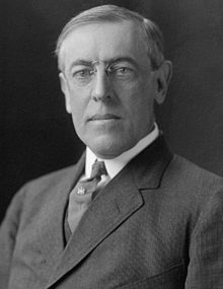 POTUS #28 PRESIDENT WOODROW WILSON March 4, 1913 – March 4, 1921