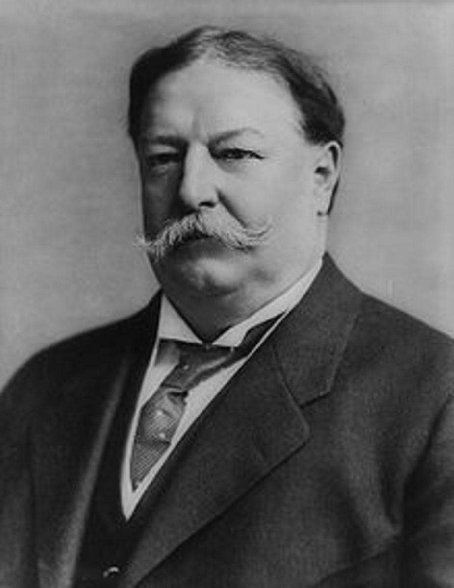 POTUS # 27 WILLIAM HOWARD TAFT 1909 - 1913