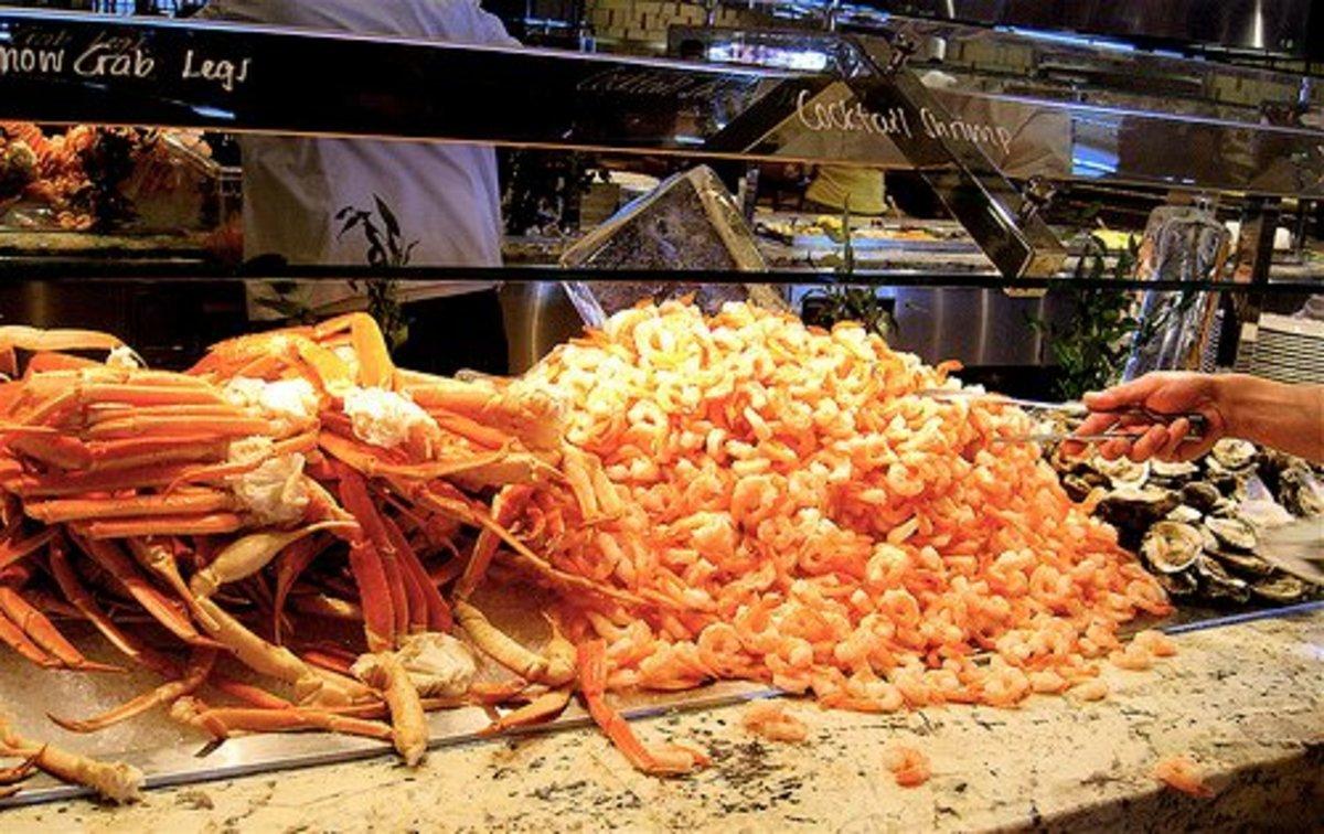 Wynn Seafood buffet