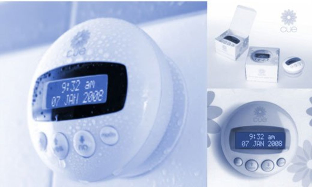 Cue Shower Clock. Get a Bathroom Clock and Limit Your Time Spent There    hubpages