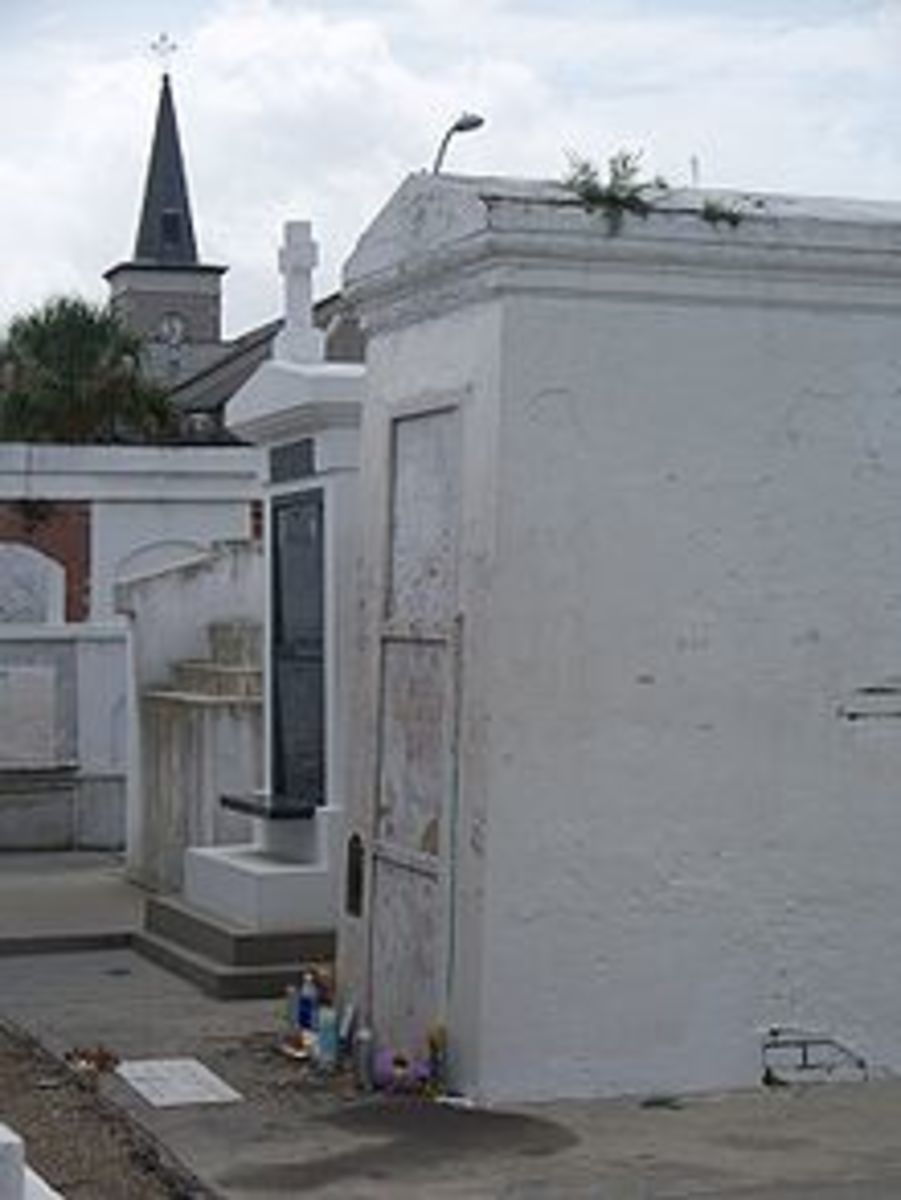 Tomb of Marie Laveau. The Tomb of Marie Laveau is in St Louis Number 1 Cemetery in New Orleans.
