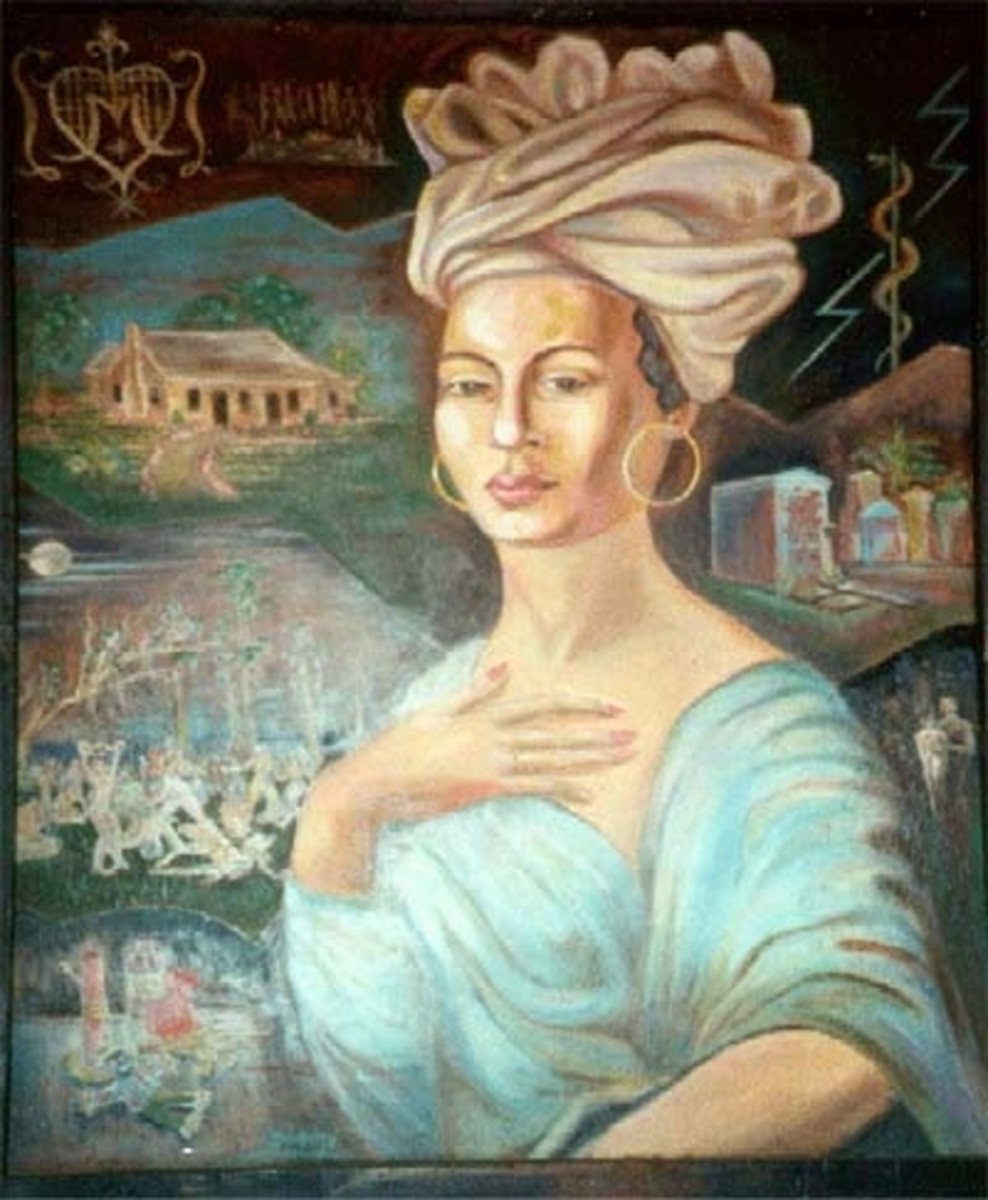 Marie Laveau. She was the most famous Voodoo Queen ever in the history of Voodoo in New Orleans.
