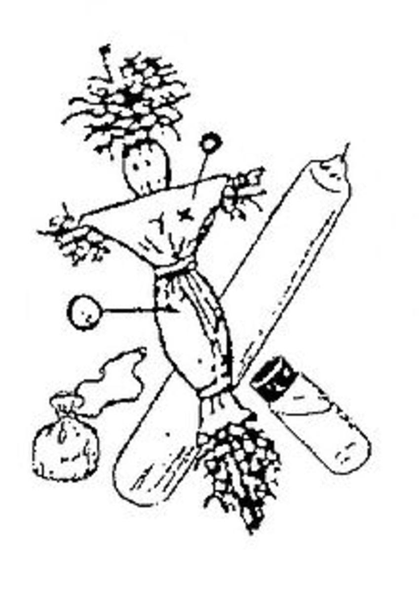 Louisiana Voodoo is a mixture of African beliefs , Louisiana Voodoo , and Roman Catholic beliefs.