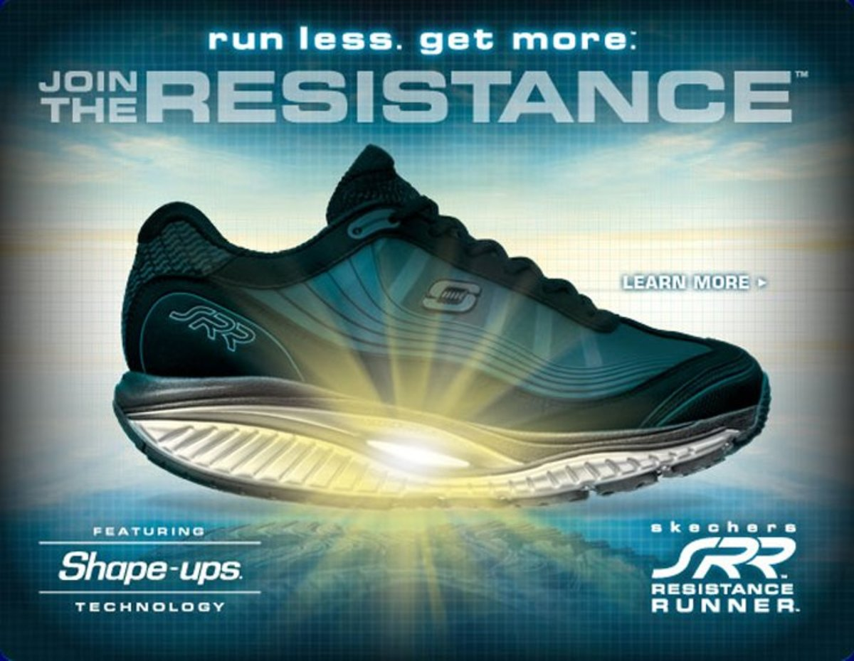 The Skechers Shape Ups SRR Resistance Runner