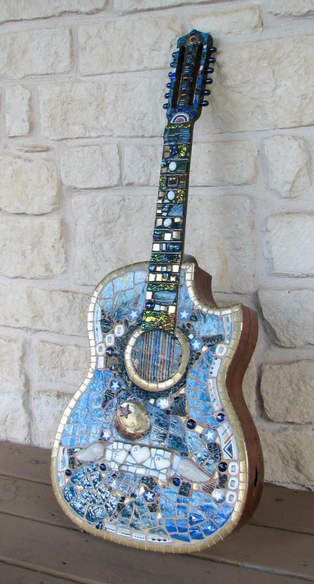 rhythm-and-blues-mosaic-guitar