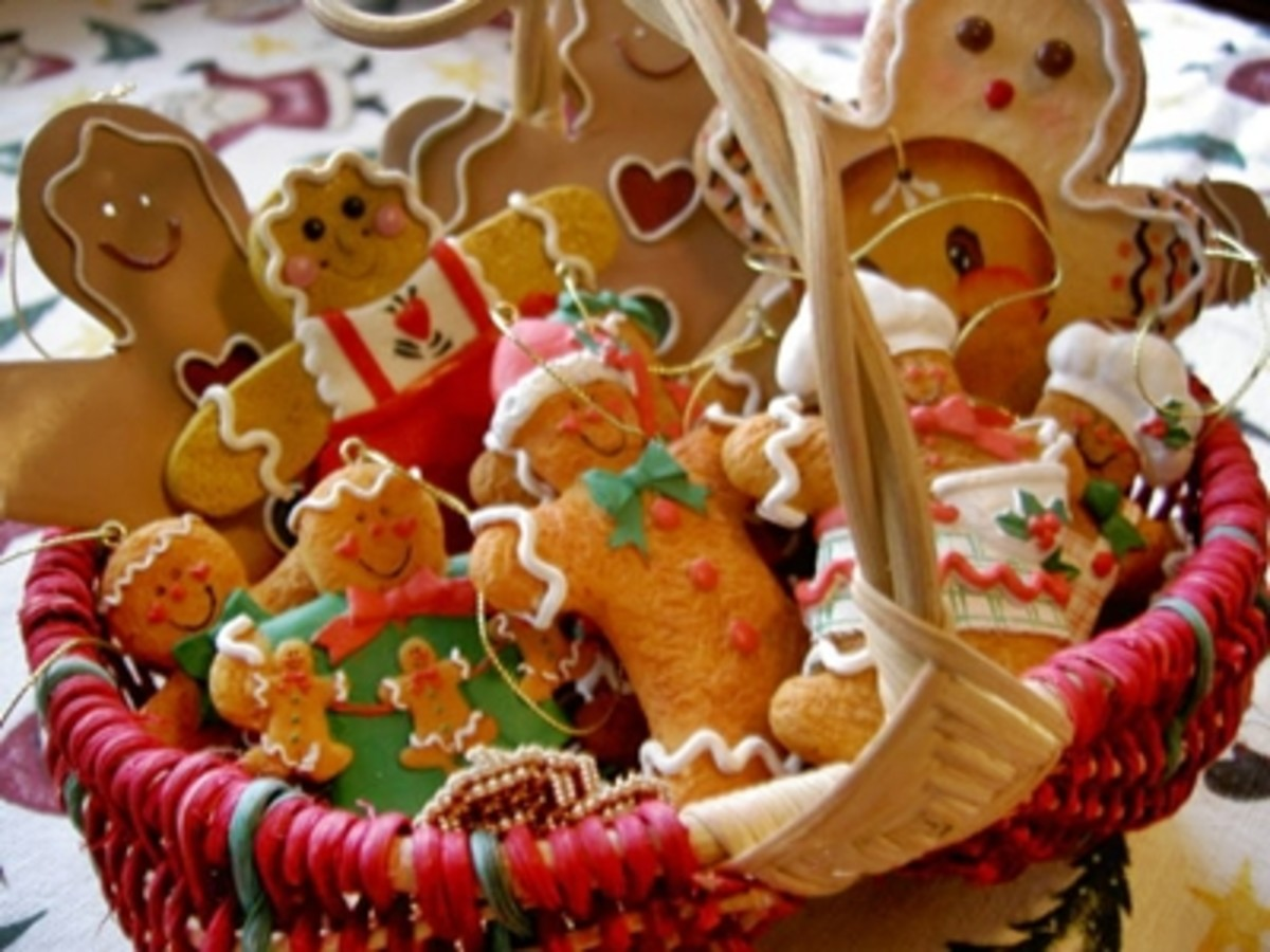 evoke the scent of spicy Christmas Gingerbread