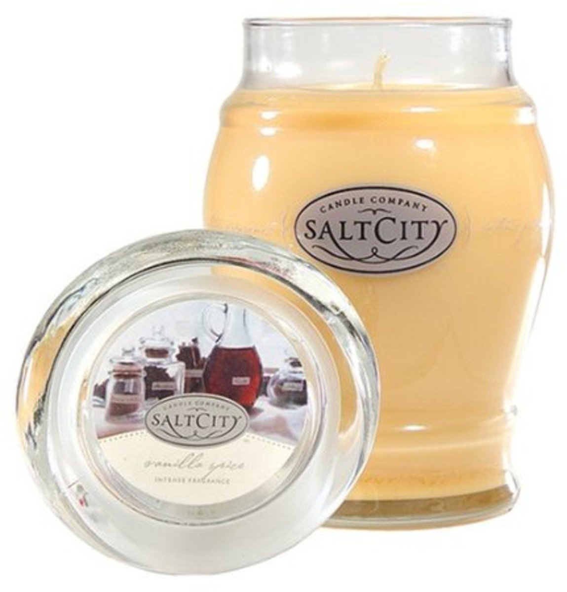 Perfect as a gift, or for your own home, this Vanilla Spice candle is popular in the Holiday Collection.