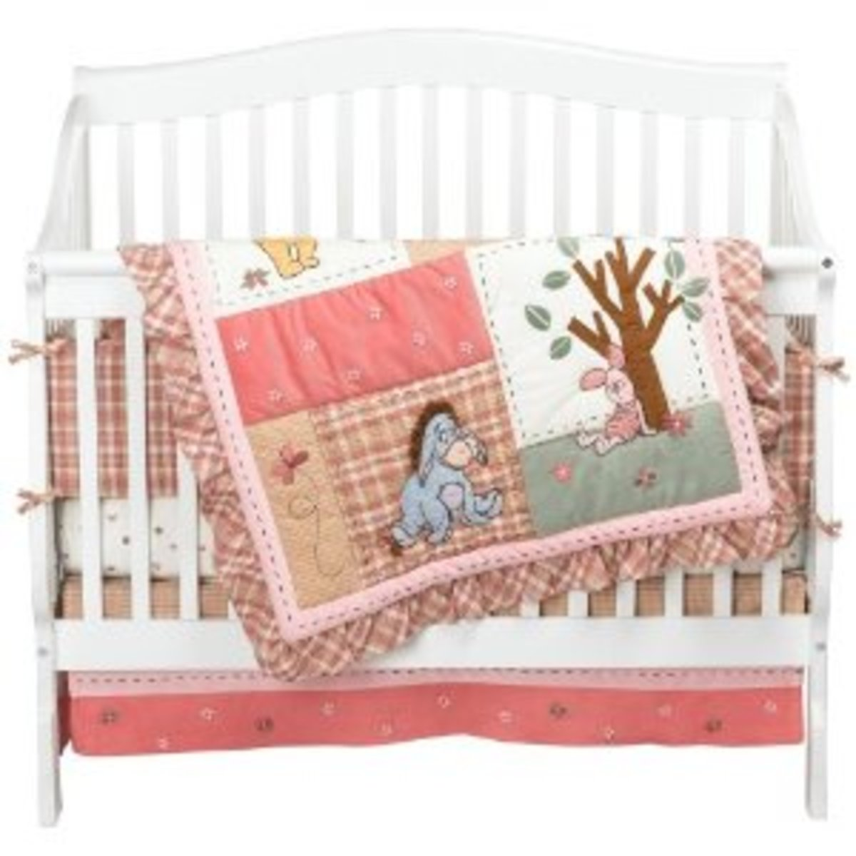 Disney Crib Bedding Set, Create A Disney Theme Baby Boy or Girl Nursery, Mickey Mouse and More