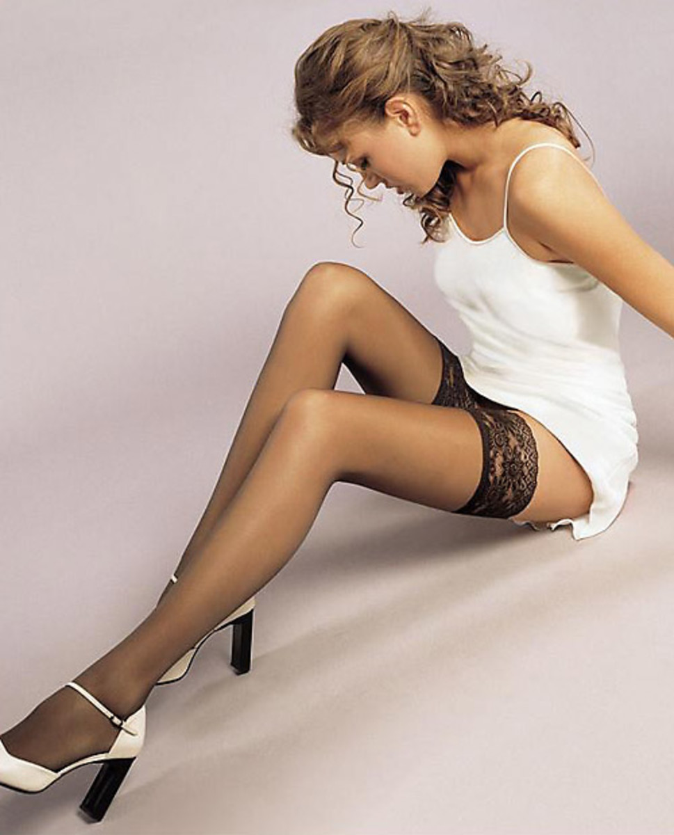 Fashionable, Stylish Support Stockings, Tights and Compression Hosiery for Glamorous Women and Hot Girls