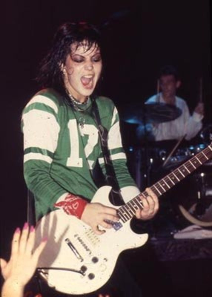 Joan Jett Rockin'Out
