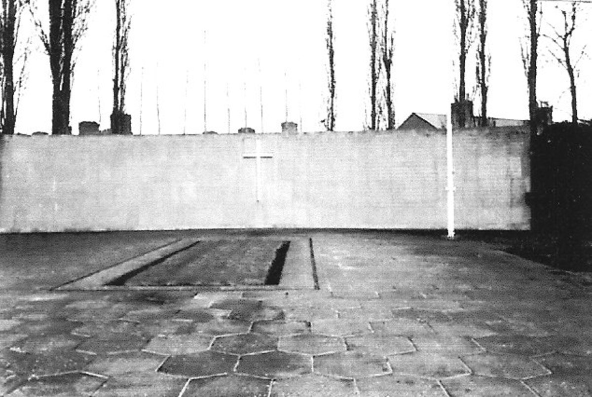 Arbour Hill Cemetery Stoneybatter Dublin 7 Ireland. The square is the mass grave at Arbour Hill.