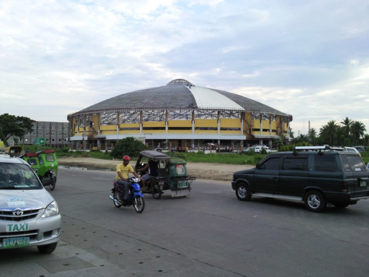 Naga City Astrodome - located at the Central Business District 2, Triangulo Naga City