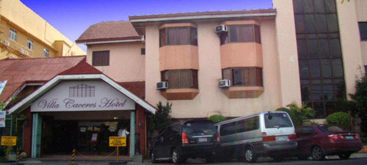 Villa Caceres Hotel (Photo courtesy of http://nagacityhotels.com/)