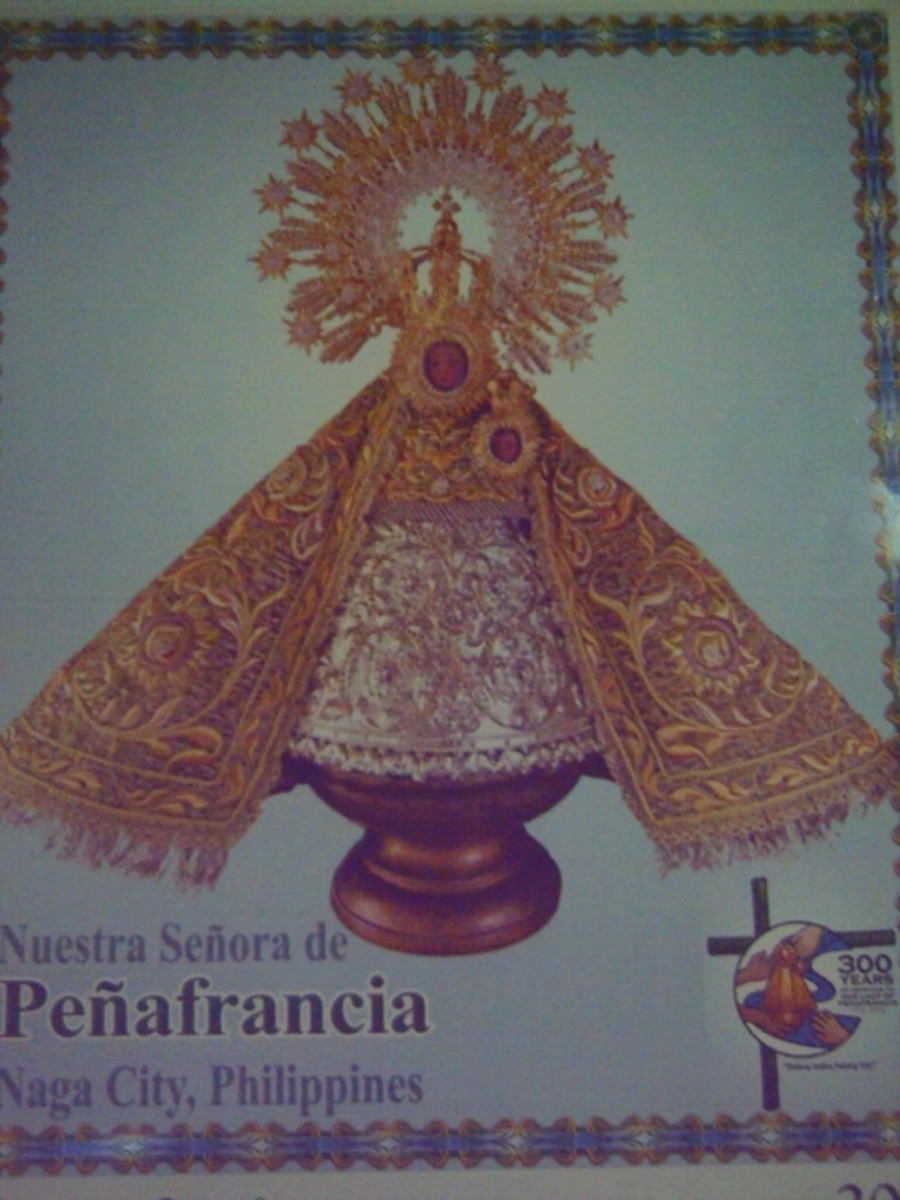 Commemorative Photo of INA-Virgin of Peafrancia (Photo by Travel Man)