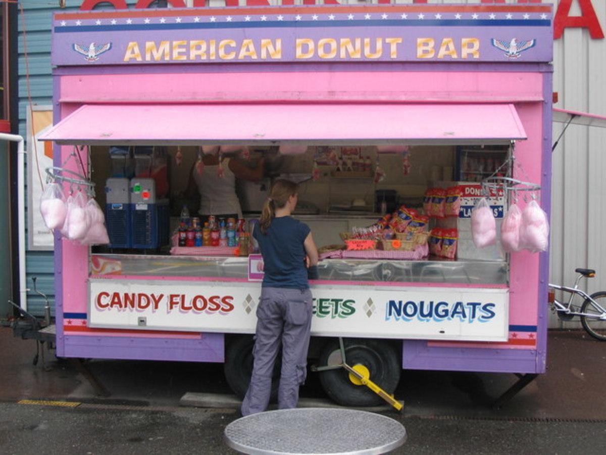 Markets in Cornwall - Donut Bar