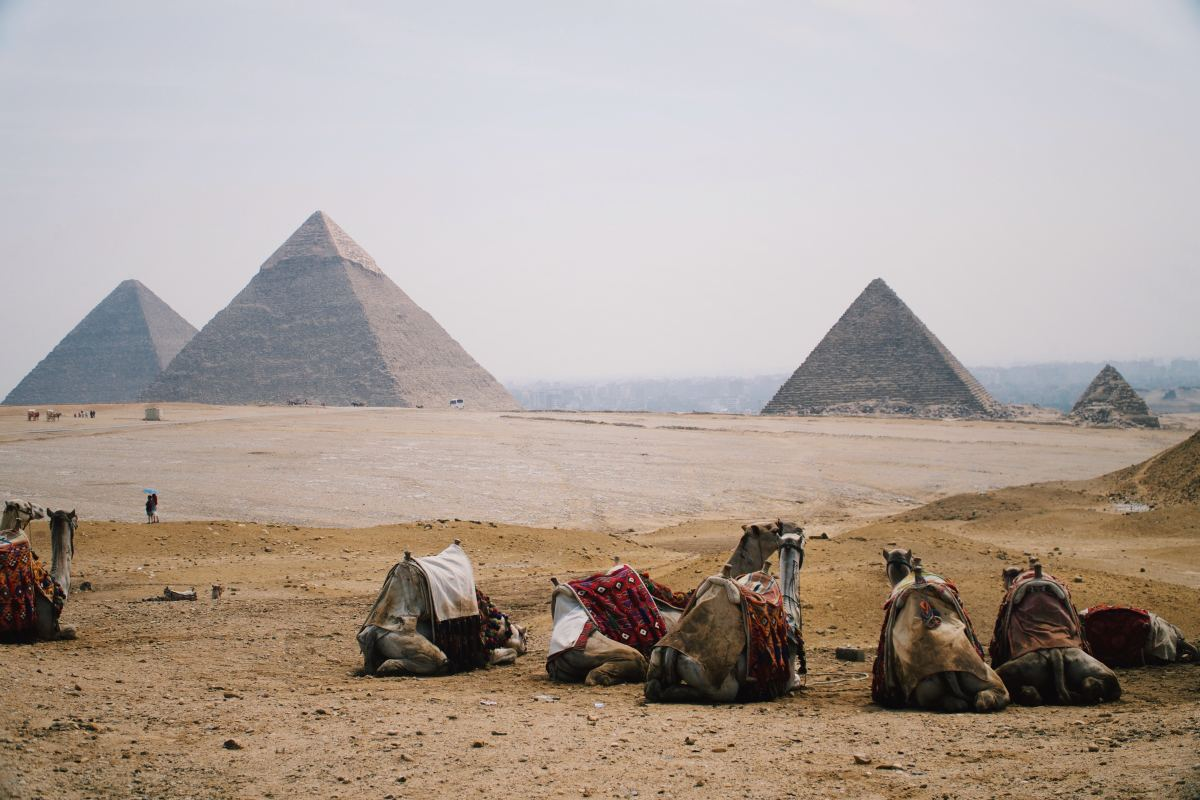 The Pyramids of Egypt. No Mummies have been found in the Great Pyramid.