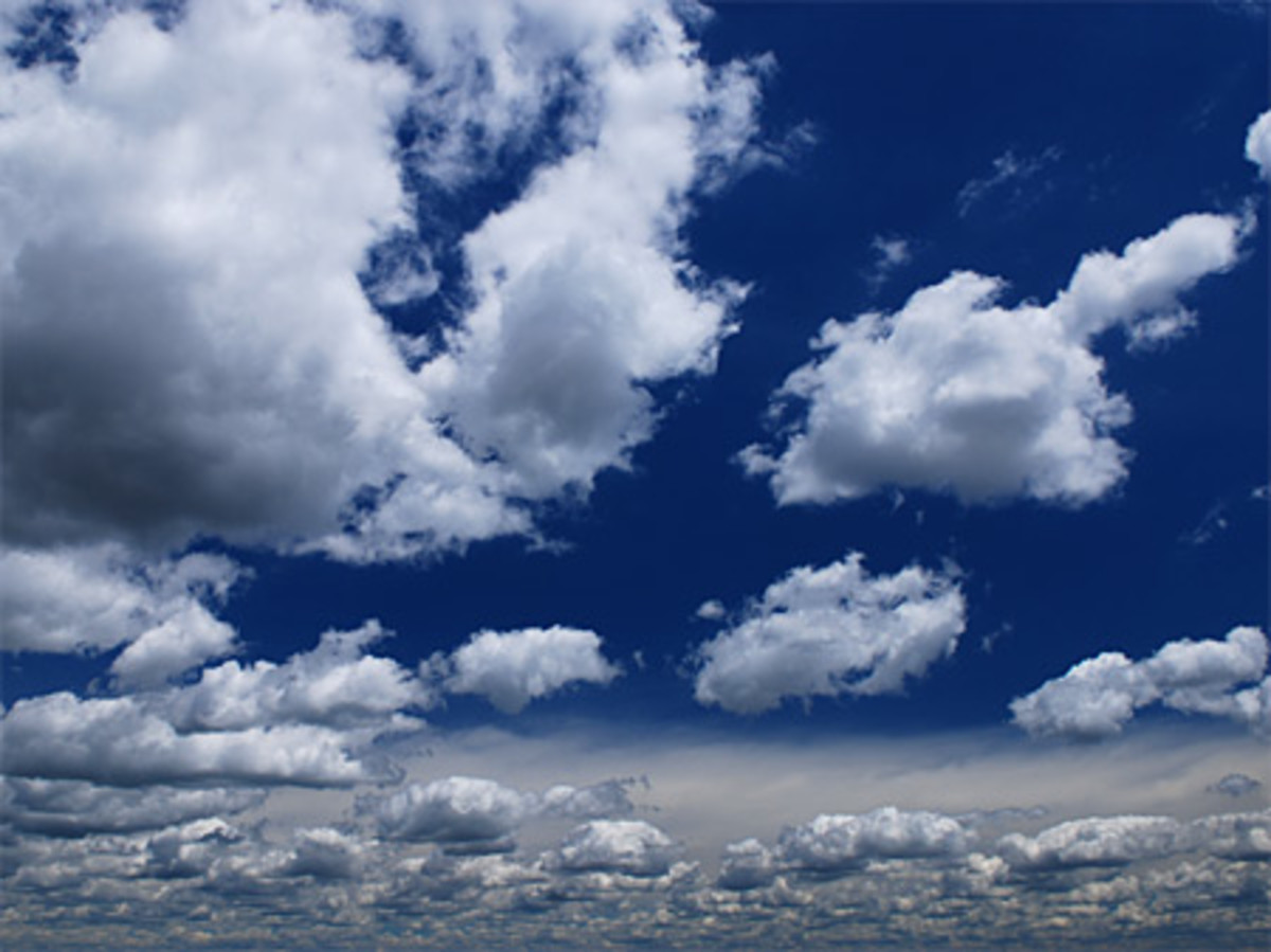Guided meditation: Clouds high in the sky