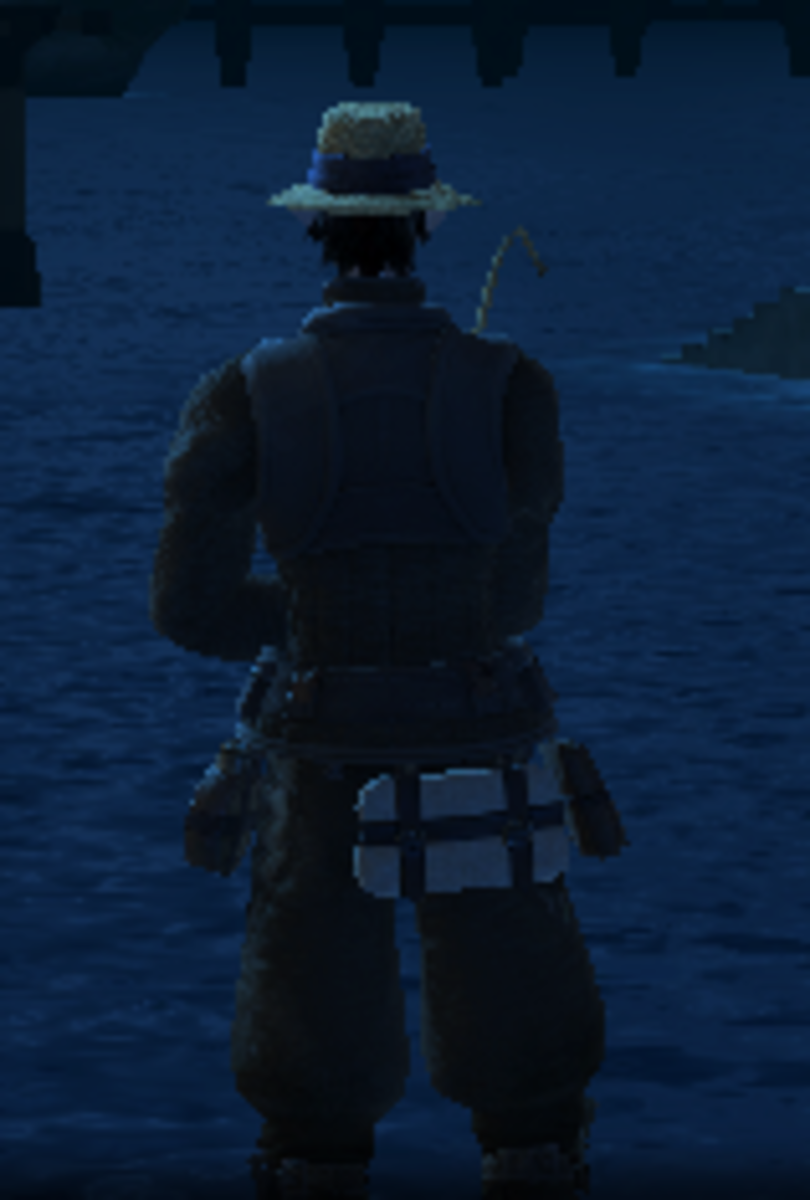The fishing hat is so sexy. Omg.