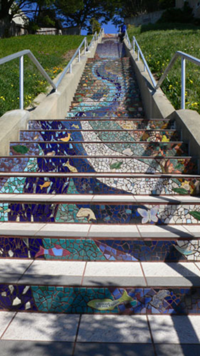 10 Breathtaking Stairway Walks on the Streets in San Francisco, CA