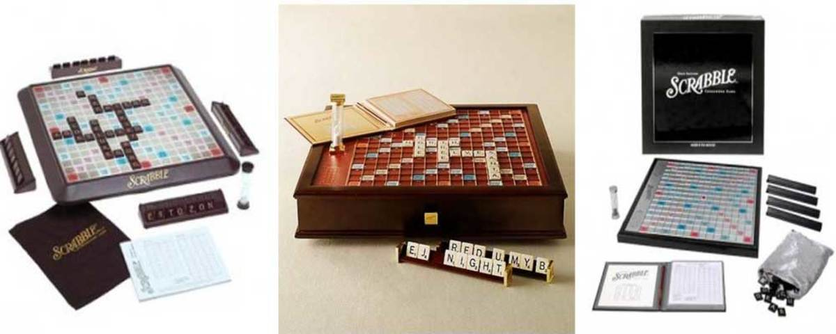 The Ten Best Scrabble Board Games