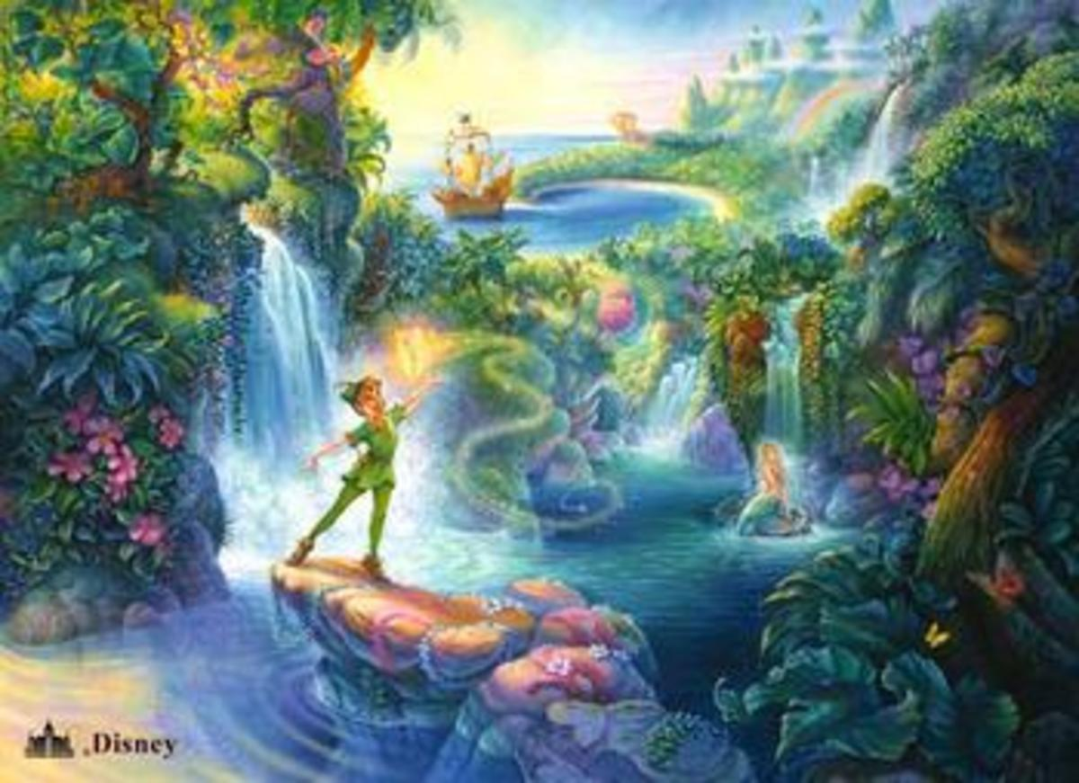 Peter Pan and his Never land! (Google images. com)