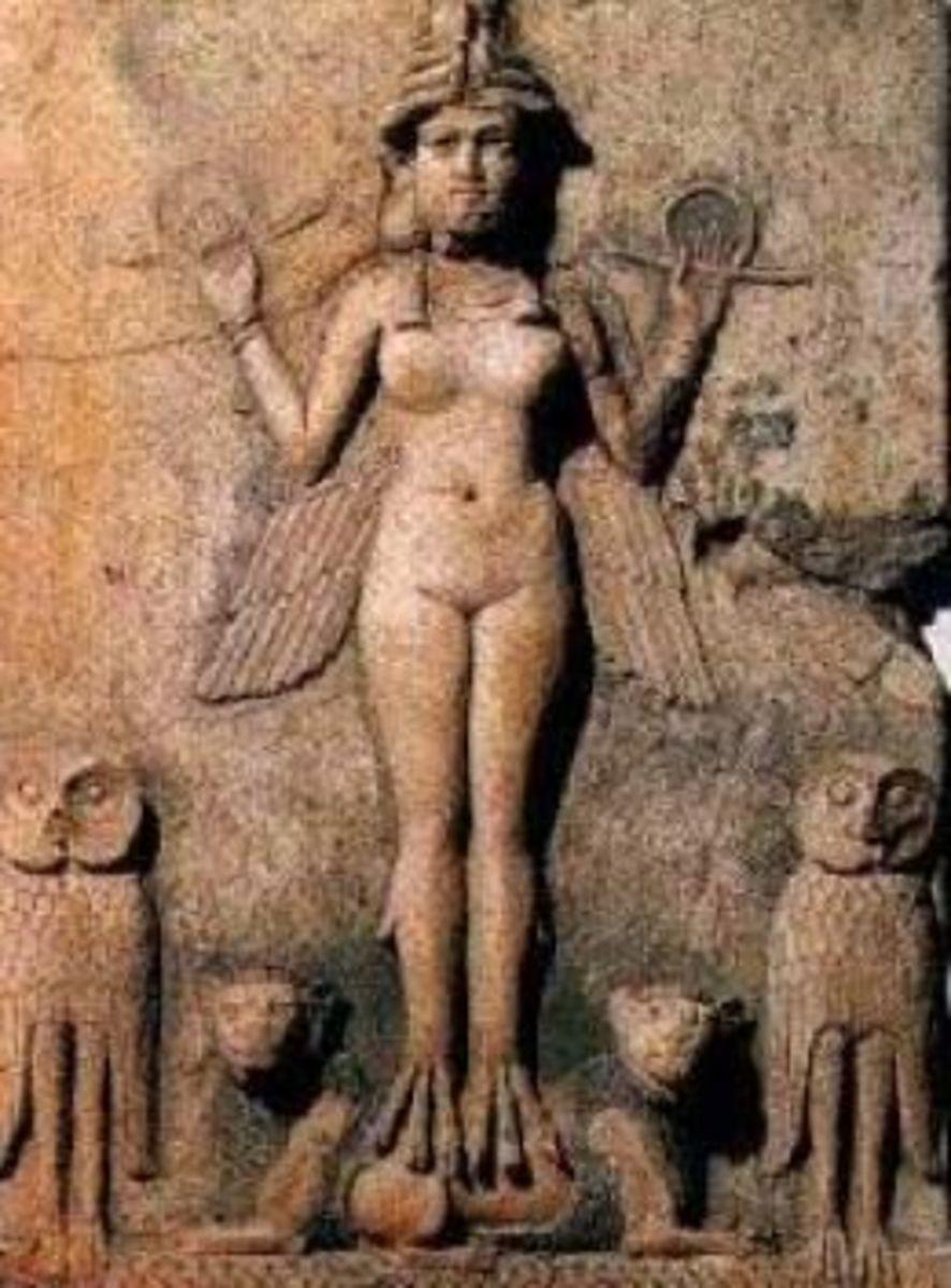 Burney Relief, Babylon (1800-1750 BCE)