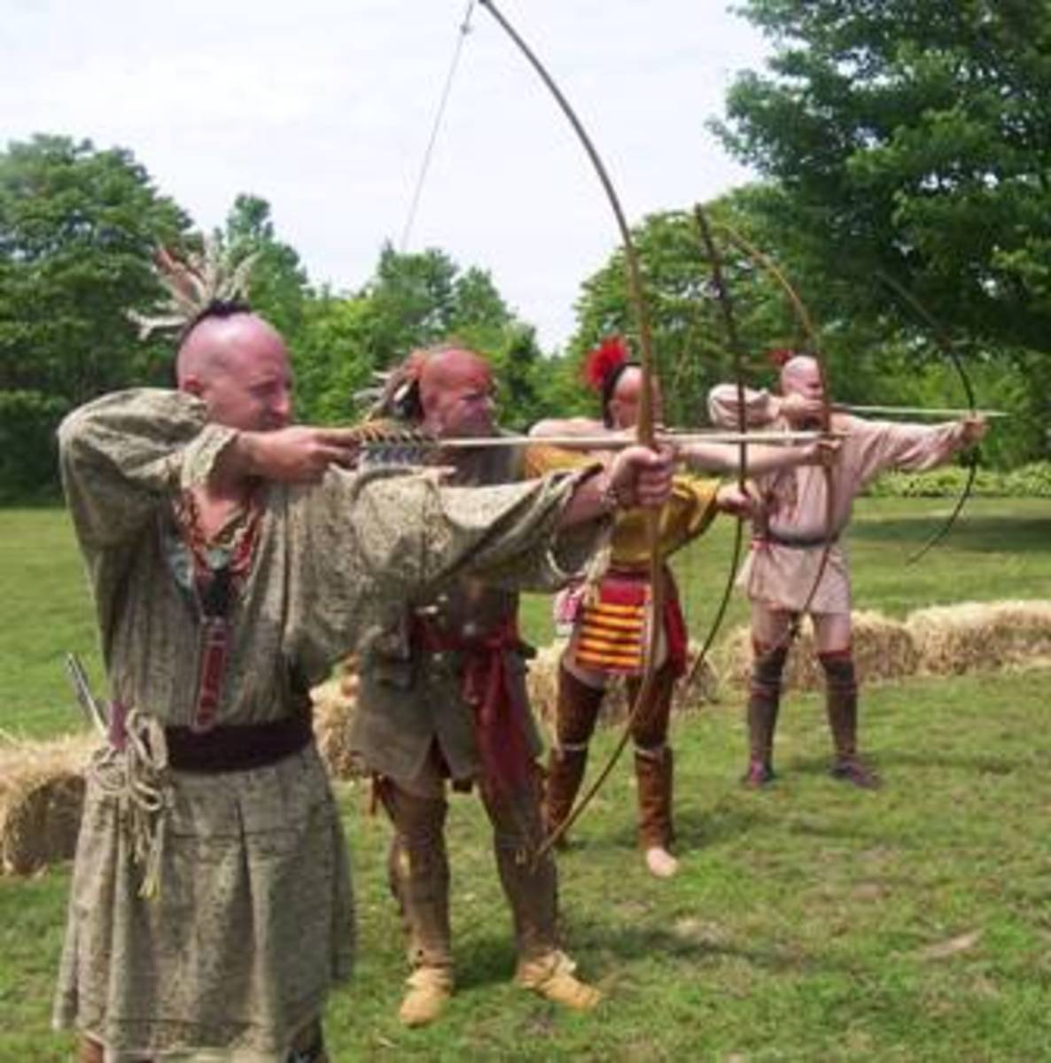 Angel Mounds Archery Demonstration  from angelmounds.org