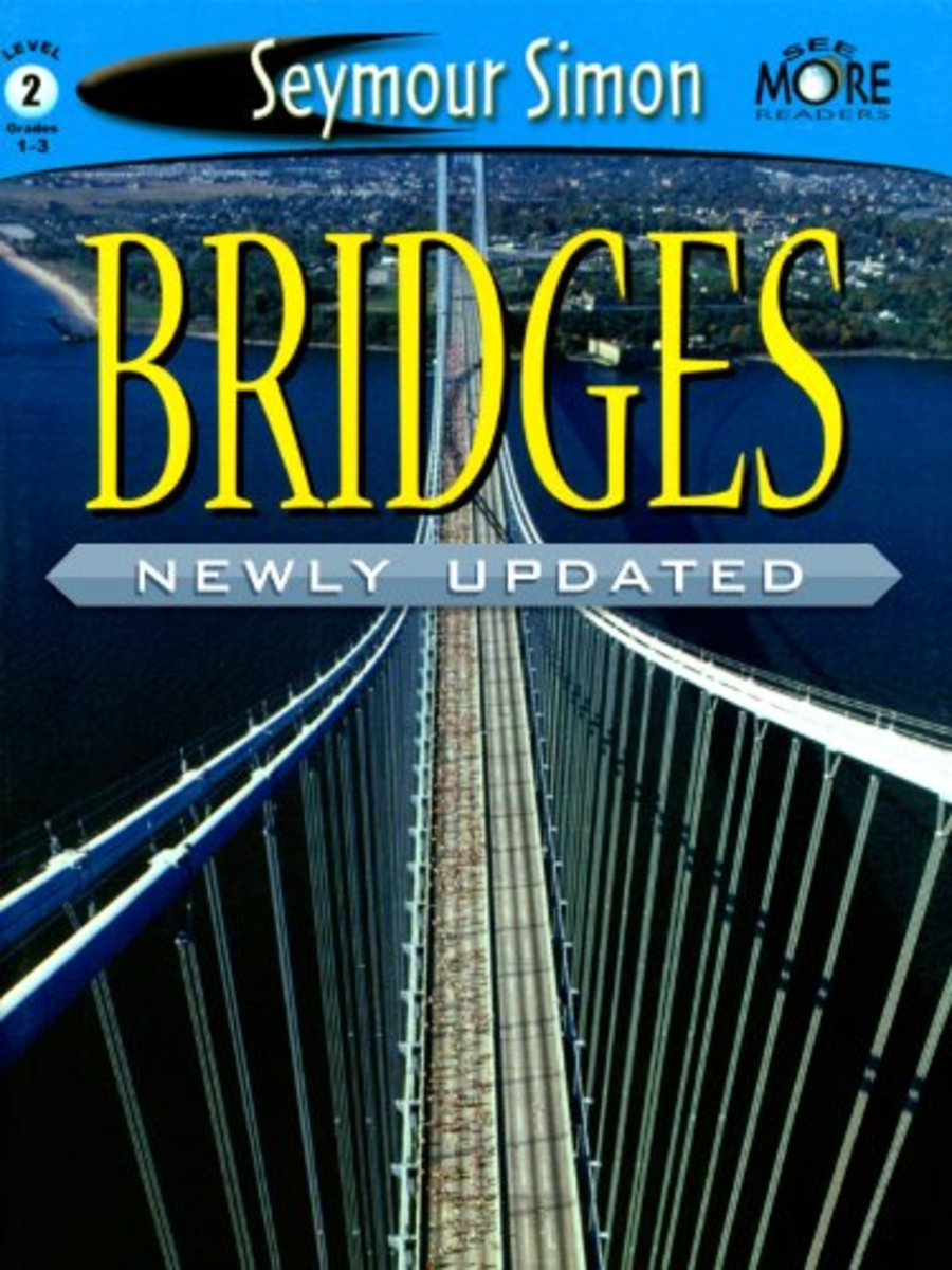 Bridges by Seymour Simon - Book image is from amazon .com.