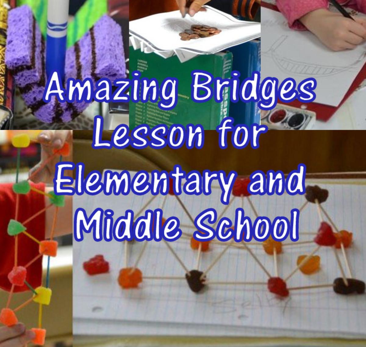 Lesson Plan on Bridges: Forces, Arch Bridges, & Truss Bridges