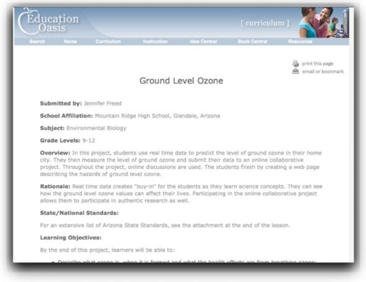 Education Oasis Lesson Plan Template