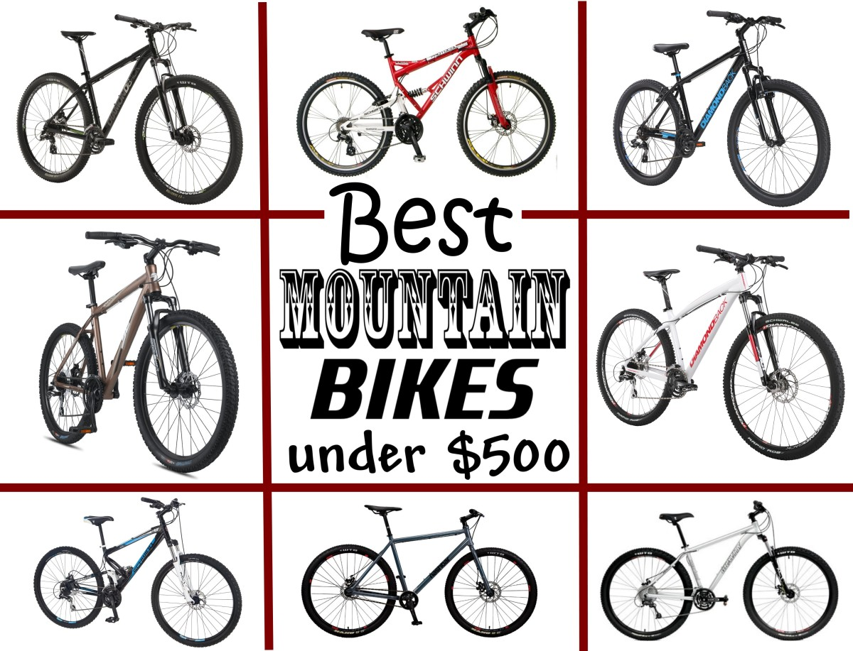 What are the best mountain bikes for less than $500?