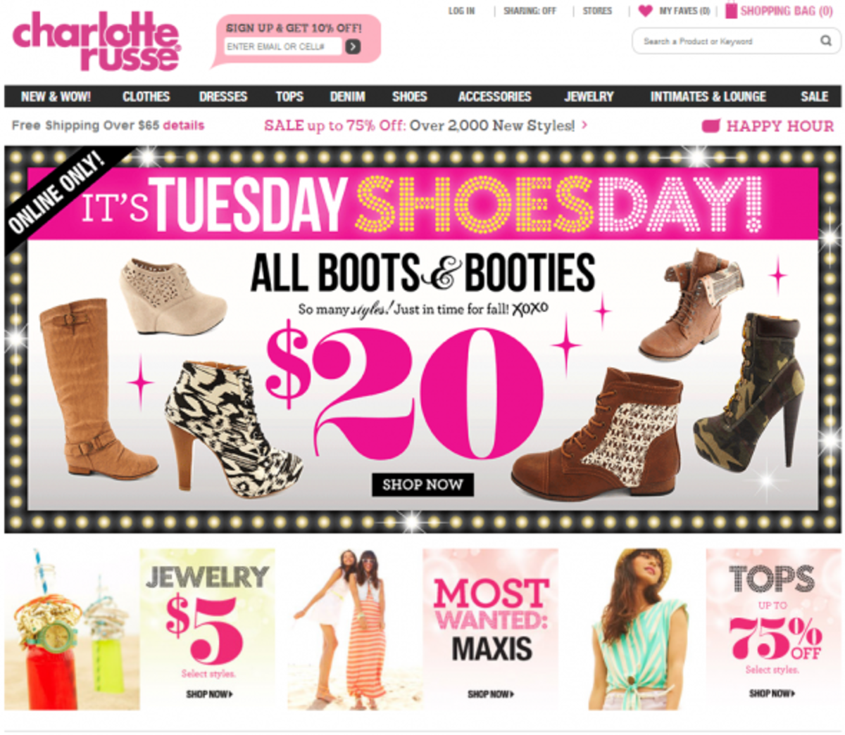 General Summary Charlotte Russe is looking for an Associate Web Producer to join its Digital Experience team. In this role, they will be responsible for creating and delivering the best experience on lockrepnorthrigh.cf and lockrepnorthrigh.cf across desktop, mobile and APP. An ideal candidate will have a strong background in web content management and an understanding of web design and .