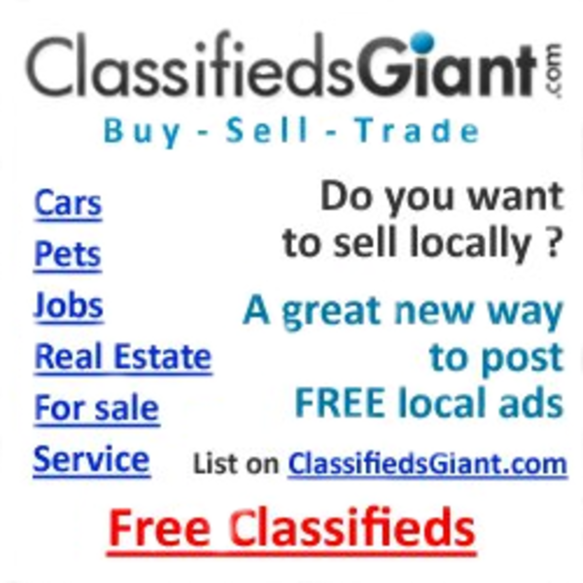 Other classifieds like craigslist