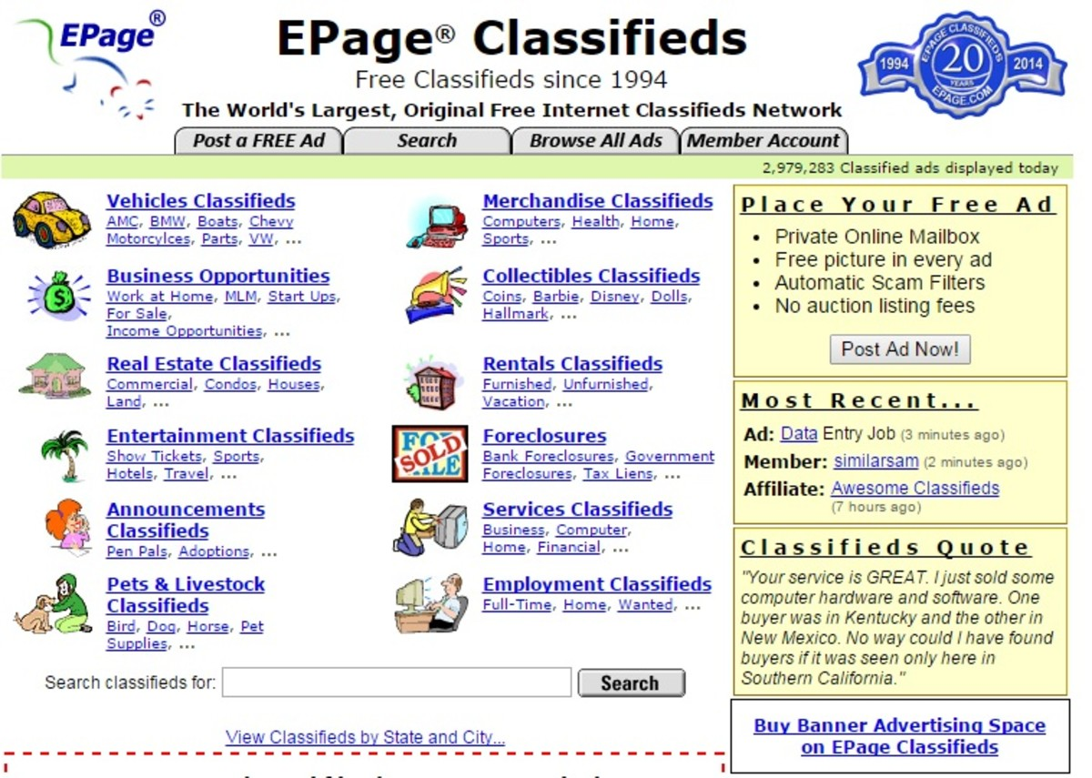 EPage Classifieds