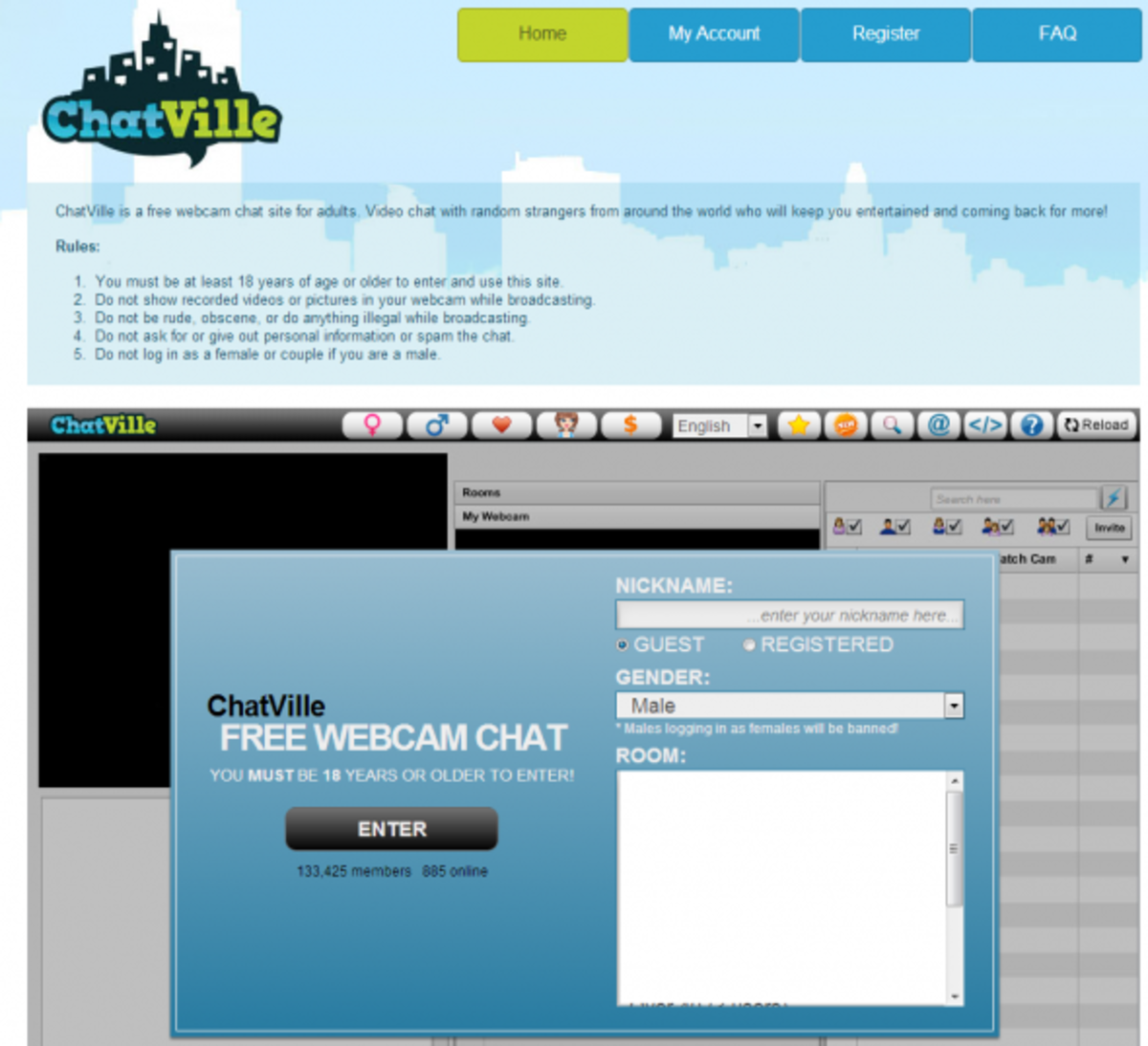 chatroulette official website