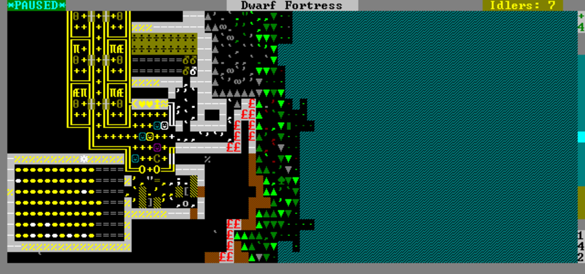Dwarf Fortress Gameplay