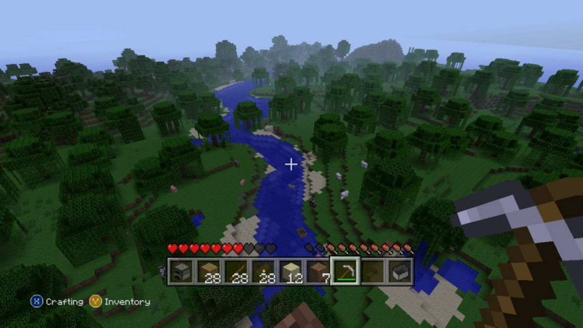 Minecraft Gameplay
