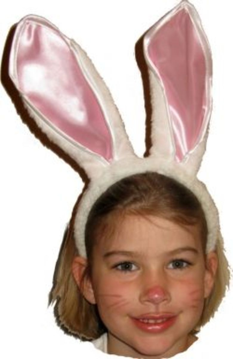 Make an Adorable Bunny Costume for Easter or Halloween