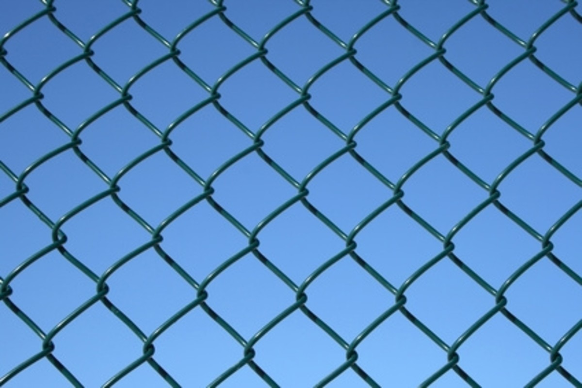 how to fix or repair a chain link fence repairing chainlink fences hubpages