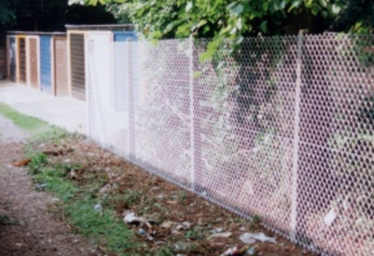 how-to-put-up-a-chain-link-fence
