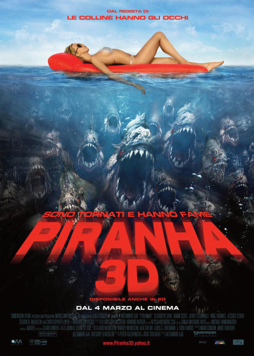 Piranha 3D Adult Movie Review